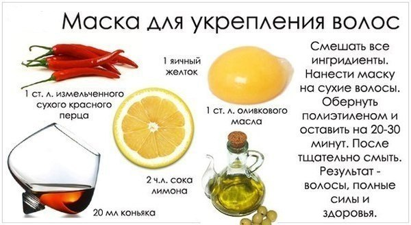 Витамины для волос.